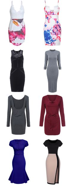 Flattering is hard to find, so we made it easy for you. Bodycon Dress knows you more. Hit more attractive pieces at romwe.com