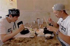 "sugmon: """"American Hustle Life: ↳ Namjoon and Yoongi "" """