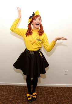 Emma Watkins Photos - Actress Emma Watkins attends 'The Wiggles Portrait Session' held at the Thousand Oaks Civic Arts Plaza on September 2013 in Thousand Oaks, California. - The Wiggles Portrait Session and Performance Wiggles Birthday, Wiggles Party, Girl Birthday, July Birthday, Birthday Parties, Emma Wiggle Costume, Wiggle Dress, Wiggles Cake, The Wiggles