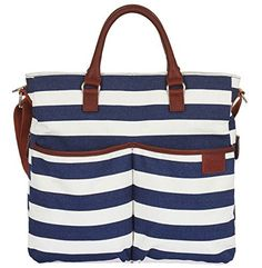 Diaper Bag by Hip Cub - Plus Matching Baby Changing Pad -