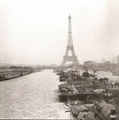 La Seine gelée ! ...oui mais en 1893.