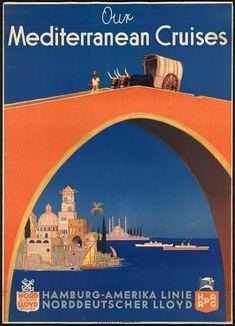 Vintage travel poster -- no date