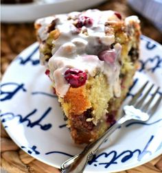 CRANBERRY-PECAN COFFEE CAKE | Food And Cake Recipes