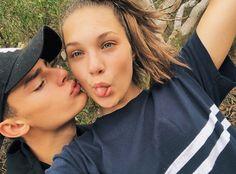 Maddie and Jack! Maddie Ziegler, Mackenzie Ziegler, Boyfriend Goals, Future Boyfriend, Cute Relationship Goals, Cute Relationships, Jack Kelly, Tumblr Couples, Maddie And Mackenzie