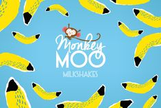 Monkey Moo Milkshakes (Concept) on Packaging of the World - Creative Package Design Gallery