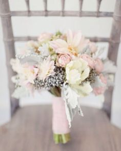 Powder Pink & Gray