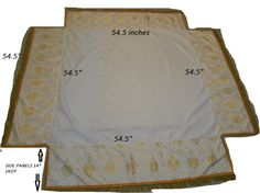 Processional Canopy - Yahoo Image Search Results  sc 1 st  Pinterest & Processional Canopy White/gold Church Fabric Blue silk lining ...
