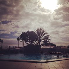 #HOLIDAY in Gran Canaria - my view by the pool