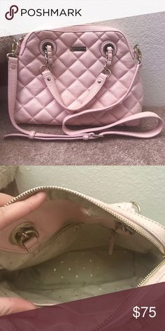 Kate Spade Gold Coast Georgina bag pink Barely worn kate spade Georgina bag kate spade Bags Crossbody Bags