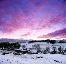 A snowy vista of Allendale Northumberland http://www.visitnorthumberland.com/allendale