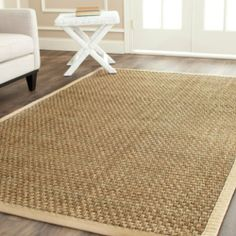 Hand-woven Natural/ Beige Seagrass Rug (8' x 10') Casual Contempary Living Dinning Room Area Sisal Hand Woven,http://www.amazon.com/dp/B00I32HNMA/ref=cm_sw_r_pi_dp_W4ojtb1Z8MSQVJ1T
