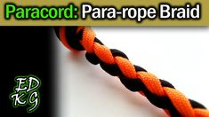 In this entry of our paracord project series we're making rope with paracord! TITAN WarriorCord and SurvivorCord are perfect for your paracord projects. Paracord Braids, Paracord Knots, 550 Paracord, Paracord Bracelets, 4 Strand Round Braid, 4 Strand Braids, Brilliant Braid, Rope Braid Tutorials, Cobra Weave