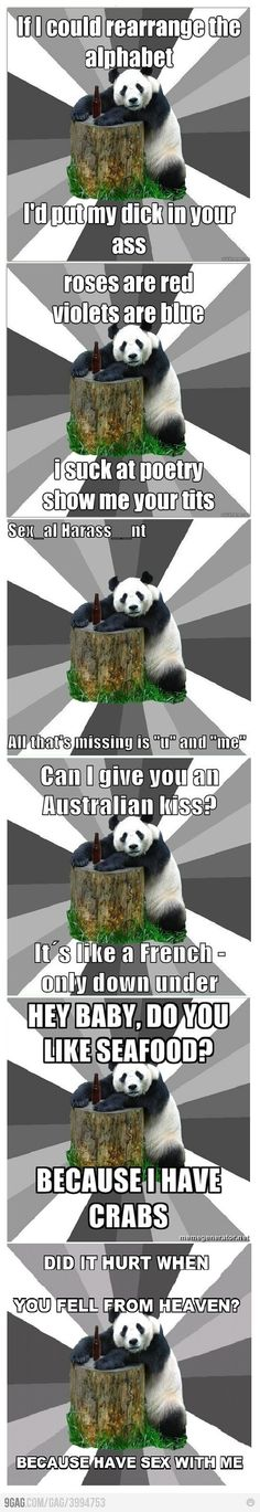 Pickup lines from Pickup Line Panda.