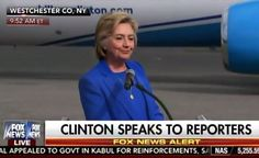 Unbelievable! Hillary Clinton Whines to Press that She Is Not Being Treated Fairly (VIDEO)  Jim Hoft Sep 8th, 2016
