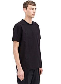 Silent  Tulya Shirt Tee In Black