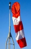 """Variegated Windsock 10"""" X 36"""" Orange/White - Buy at $23.95… We also offer this design in red-white-red. Ask us to do a Special Order with colors you desire!!"""