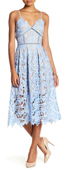 This Lace Midi Dress is making it's way into my closet!! Love it.