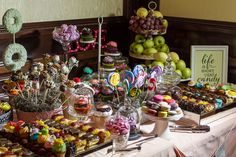 wedding candy buffet | Perfect Day Wedding Planners