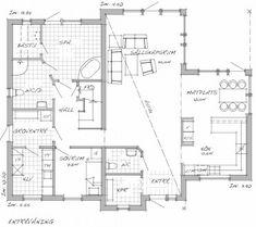 Sävsjö Trähus Stocksund Sims 4, Floor Plans, Flooring, How To Plan, Places, Inspiration, Diy Ideas For Home, Biblical Inspiration, Hardwood Floor