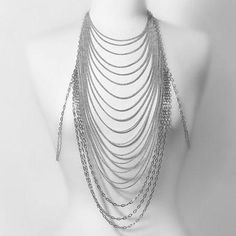 #Dresslily - #Dresslily Sexy Special Design Loopy Tassels Women's Body Chain - AdoreWe.com