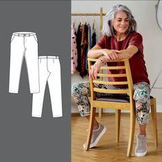 Bukse Pants, Fashion, Sewing Patterns, Trouser Pants, Moda, La Mode, Women's Pants, Fasion, Women Pants