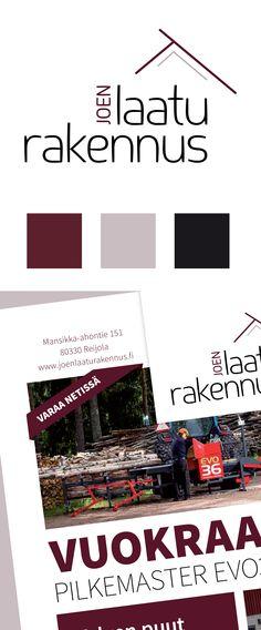 Yritysilmeen suunnittelu, sekä verkkopalvelu ja varausjärjestelmä, Joen Laaturakennus. www.joenlaaturakennus.fi