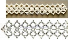 diagram of this pretty crochet motif This would look great going through the center of a baby/toddler/child sized dress