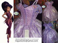 Tinkerbell+Vidia+costume+fairy+dress+Disney+by+miguelzottoyahoocom,+$95.00