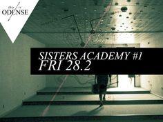 #SistersAcademy - Stor performance-satsning på #FlowHF i #Odense. #SistersHope #uddannelse #eksperimemt #PerformanceArt #Rugårdsvej9