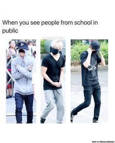 Is it just me or.......these happens every time when in public, yesterday I saw one of my classmate's from last year and I covered my face with my hair but they were on their phone the whole time so they didn't see me and I was just so lucky they didn't see me