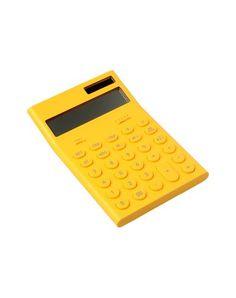 Yellow calculator