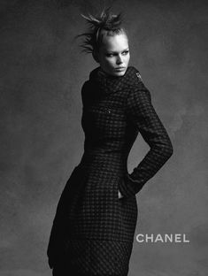 Anna Ewers, Lindsey Wixson by Karl Lagerfeld for Chanel Fall Winter 2015-2016