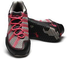 Chicane Black & Magenta - Women's Active Walking Shoes for Plantar Fasciitis & heel pain. #kurufootwear