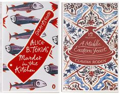 penguin's great food series, designed by coralie bickford-smith