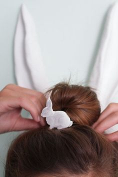 INNOCENT par Maisonnee - rabbit hair elastic