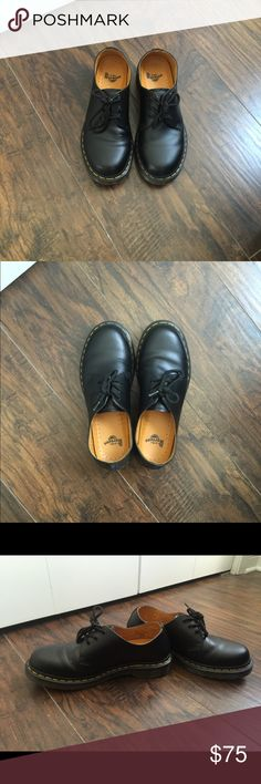 Dr. Martens Oxfords! Super comfy Doc Martens worn very few times! Excellent condition! Dr. Martens Shoes