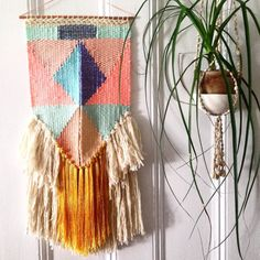 NYC Weaving Class, Shapes in Tapestry, Sunday September 27th 2:30pm-5pm with Marianne Moodie