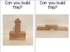FREE Can You Build This? Block Center Building Cards