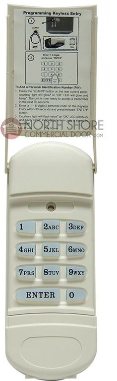 12 Best Garage Door Keypad And How To Install Keypad For Garage