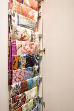 Scarf storage....I need this!
