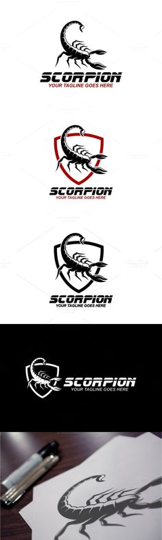 Logo template suitable for businesses and product names. Sport Icon, School Spirit, Sports Logo, Scorpion, Logo Inspiration, Logo Templates, Icons, Logos, Tattoos