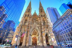 Saint Patricks Cathedral, Upper East side, Manhattan NY