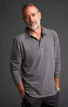 Jeffrey Dean Morgan from AMC Networks 'The Walking Dead' poses for a portrait in the Getty Images Portrait Studio powered by Pizza Hut at San Diego 2018 Comic Con at Andaz San Diego on July Get premium, high resolution news photos at Getty Images Jeffry Dean Morgan, Crew Cut Hair, Amc Networks, Older Mens Fashion, Grey Beards, Man Photography, Jeffrey Dean, Kevin Costner, Poses