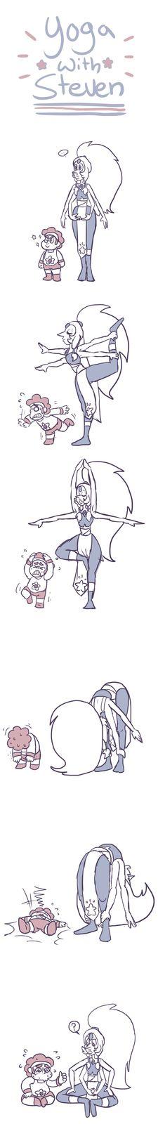 Yoga With Steven by impomaniac