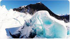 Video: drone esplora grotta di ghiaccio
