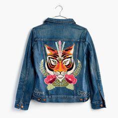 Madewell x Ft. Lonesome™ Custom Jean Jacket : denim days styles | Madewell