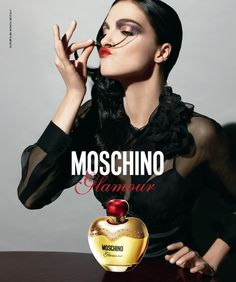 Who is the model from the classique X perfume advert?