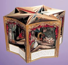 Unconventional Popup/  I loved pop up books when I was a kid. I have to find them.