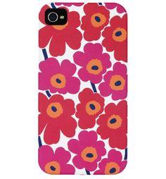 Unikko Muschel Smartphone-Case - Marimekko