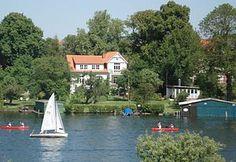 Malchower See in Mecklenburg